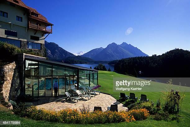 Argentina, Near Bariloche, Lake Nahuel Huapi, Lake District, Llao-llao Resort.