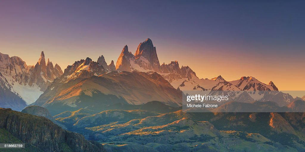 Fitz Roy is the tallest mountain in Patagonia with steep rock faces guarding it on each side. Since it was first climbed in 1952 it still remains among the most technically challenging mountains on Earth.