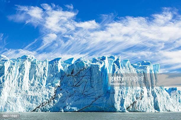 Argentina, Patagonia, Perito Moreno Glacier and Argentino Lake at Los Glaciares National Park