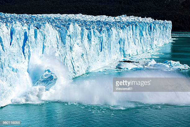 Argentina, Patagonia, Perito Moreno Glacier and Argentino Lake at Los Glaciares National Park