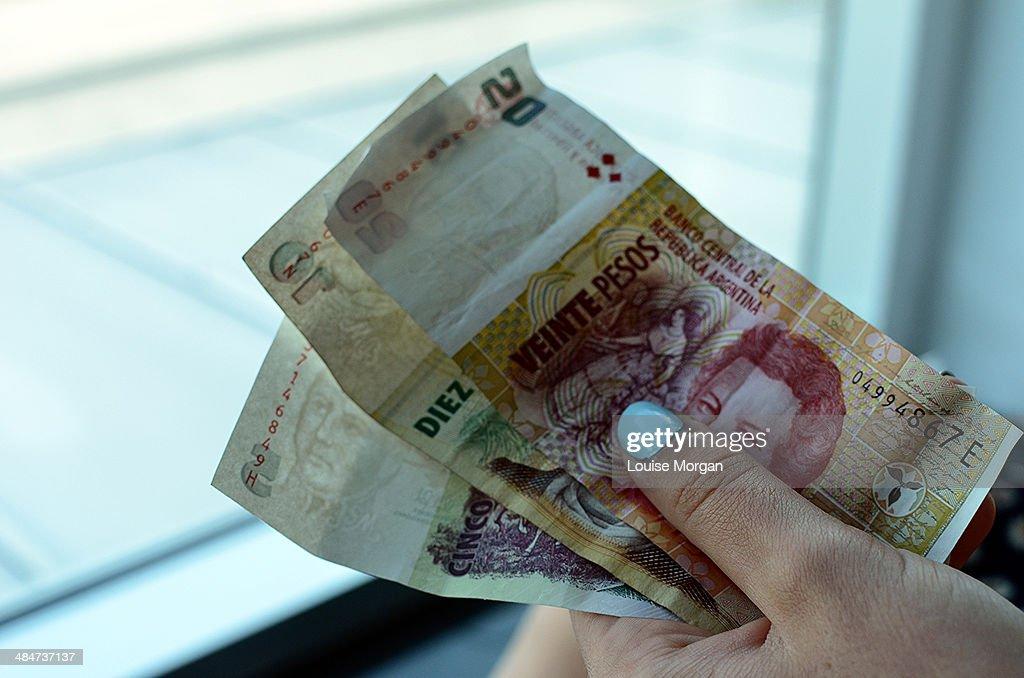 Argentina Pesos : ストックフォト