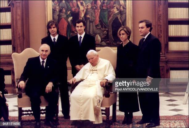 Argentina Republic President and his family