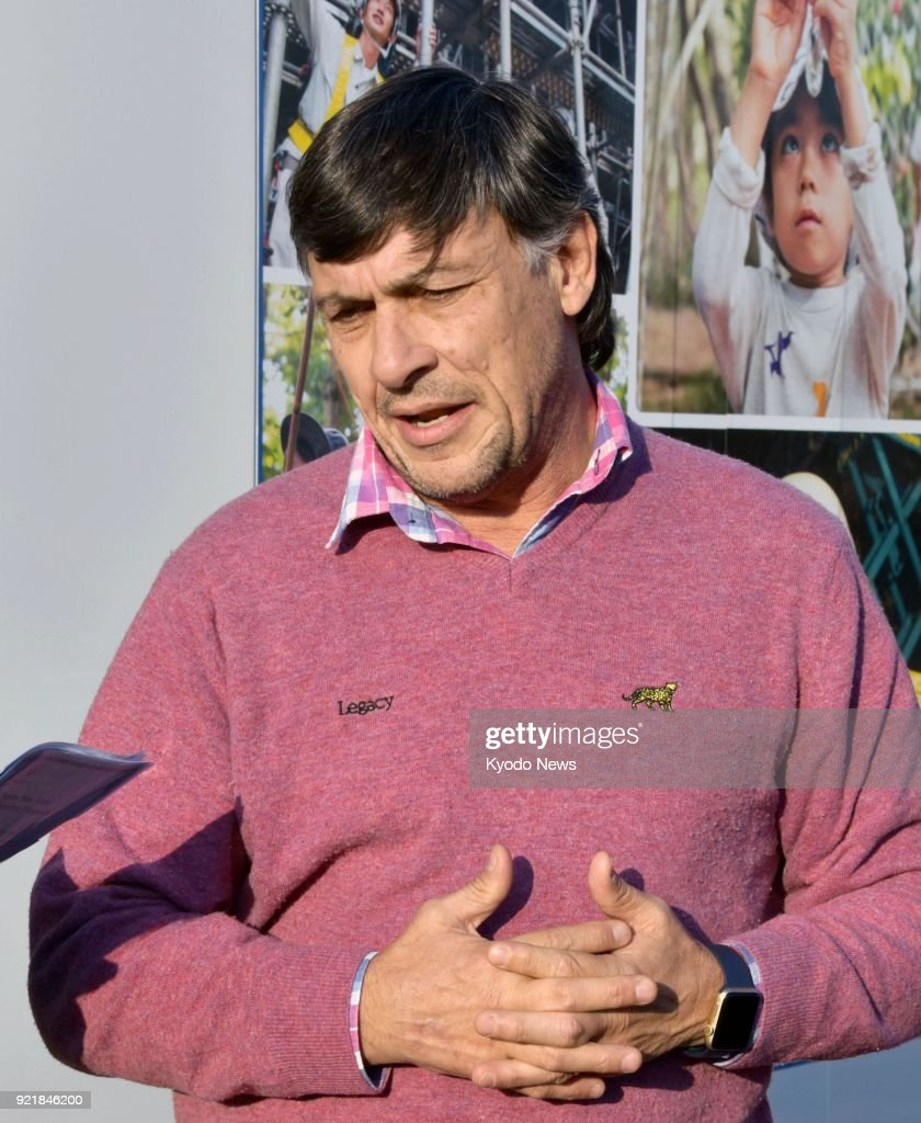 Rugby: Argentine coach Hourcade : News Photo