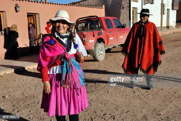 Argentina Salta region Puna local people