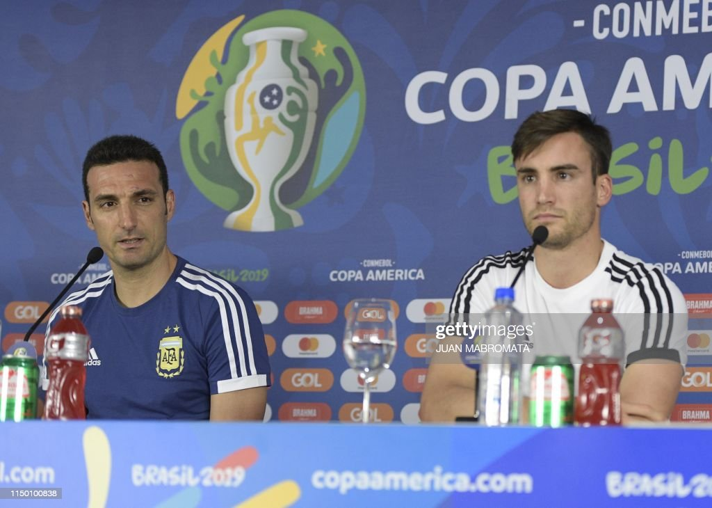 FBL-COPA AMERICA-2019-ARG-PRESSER : News Photo