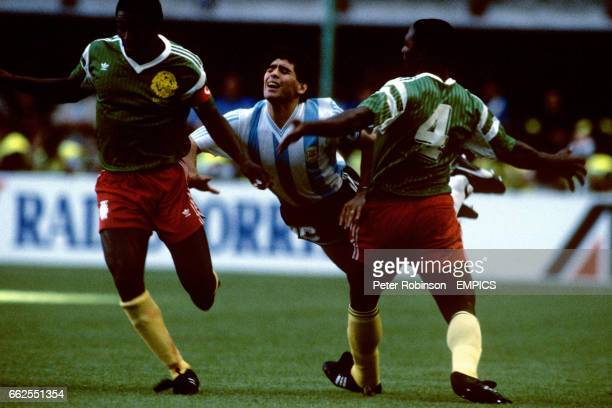 ORBIS 1990 WORLD CUP COLLECTION-#508-CAMEROON-BENJAMIN MASSING