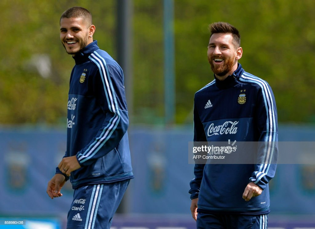 FBL-WC-2018-ARGENTINA-TRAINING : News Photo