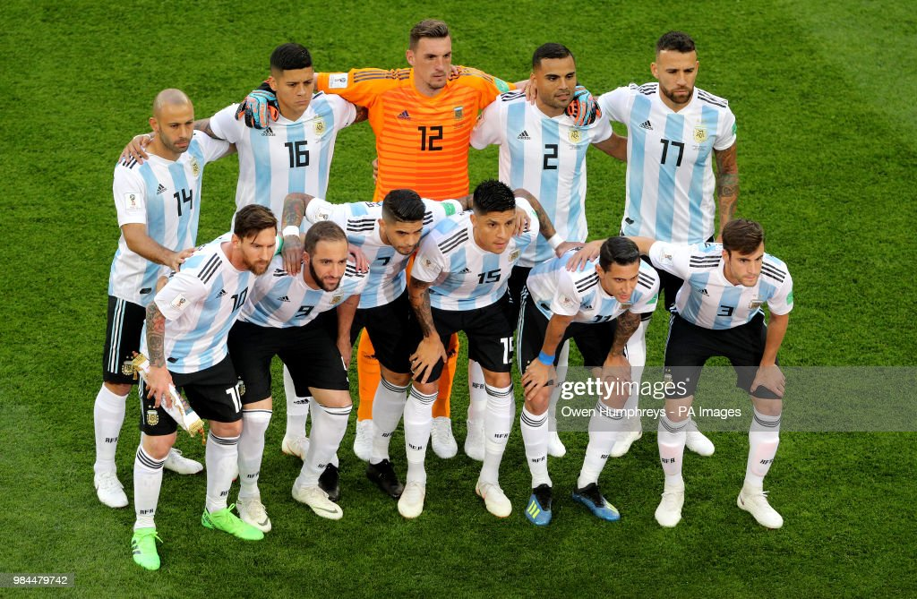 Nigeria v Argentina - FIFA World Cup 2018 - Group D - Saint ...