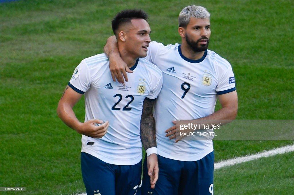 FBL-COPA AMERICA-2019-VEN-ARG : News Photo