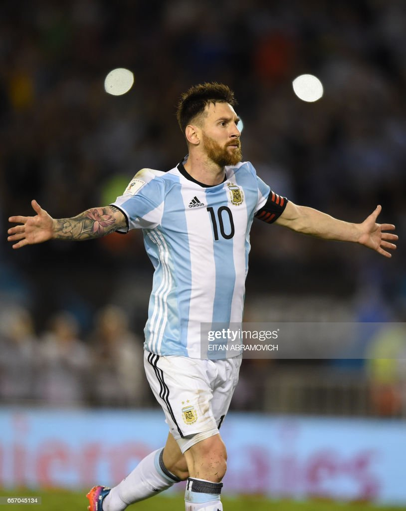 FBL-WC-2018-ARG-CHI : News Photo