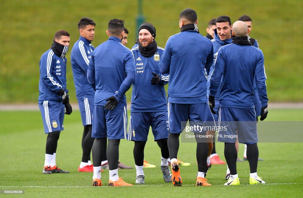Argentina Training - Day Two - City Football Academy : News Photo