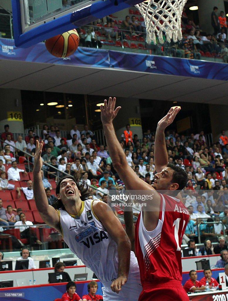 Resultado de imagen para mundobasket 2010 Jordania vs Argentina fotos