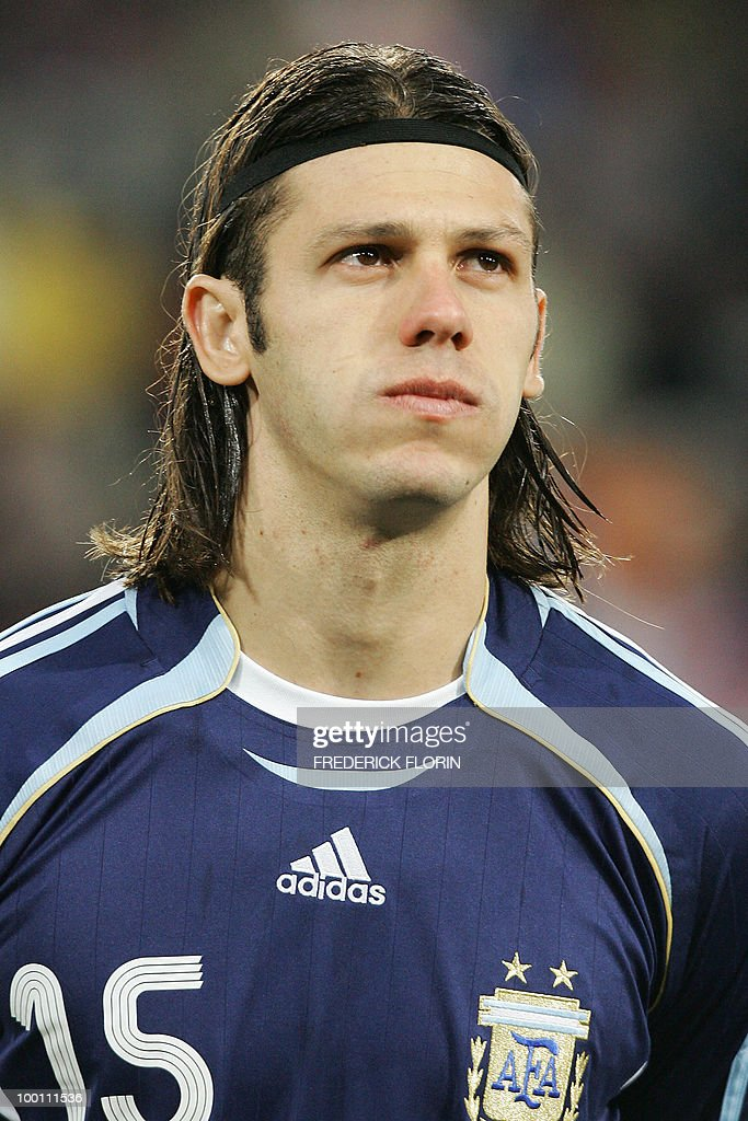 Argentina's Martin Demichelis is seen before friendly football match between Croatia and Argentina, 01 March 2006 at St Jakob Park stadium in Basel.
