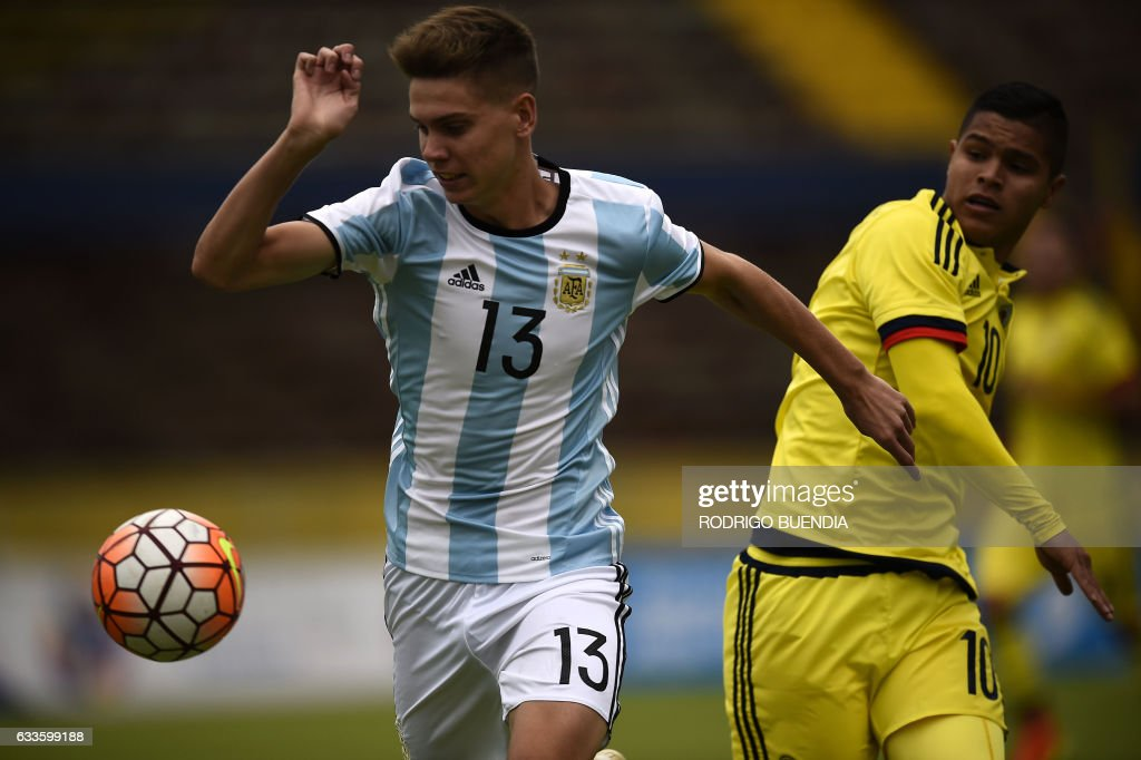 FBL-U20-COL-ARG : News Photo