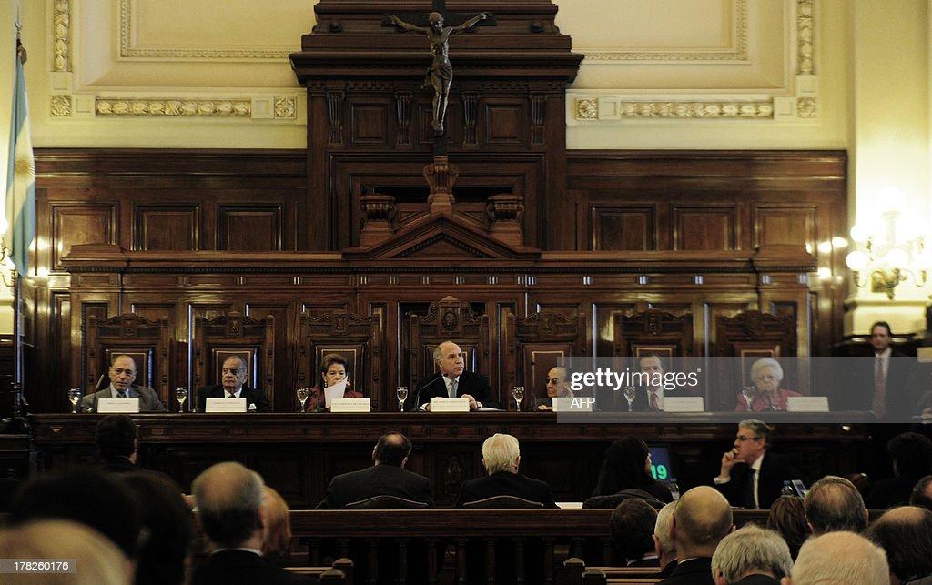 ARGENTINA-MEDIA LAW : News Photo