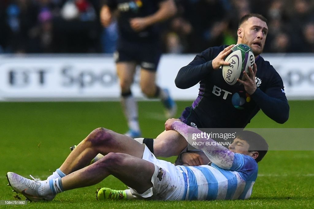 RUGBYU-SCO-ARG : News Photo