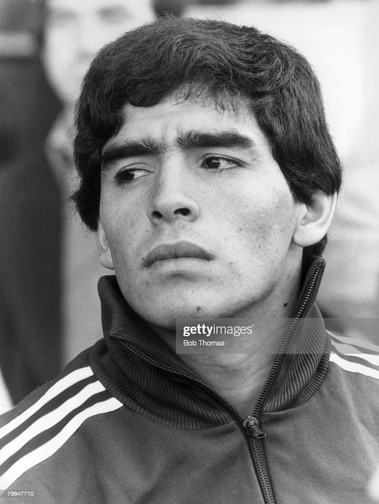 BT Sport, Football, pic: 1979, Argentina's young star Diego Maradona : News Photo