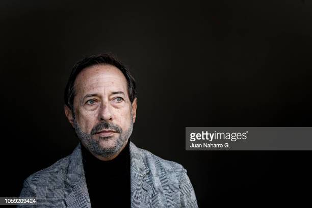 Argentine actor Guillermo Francella poses for a portrait session during 63rd SEMINCI International Film Week of Valladolid on October 24 2018 in...