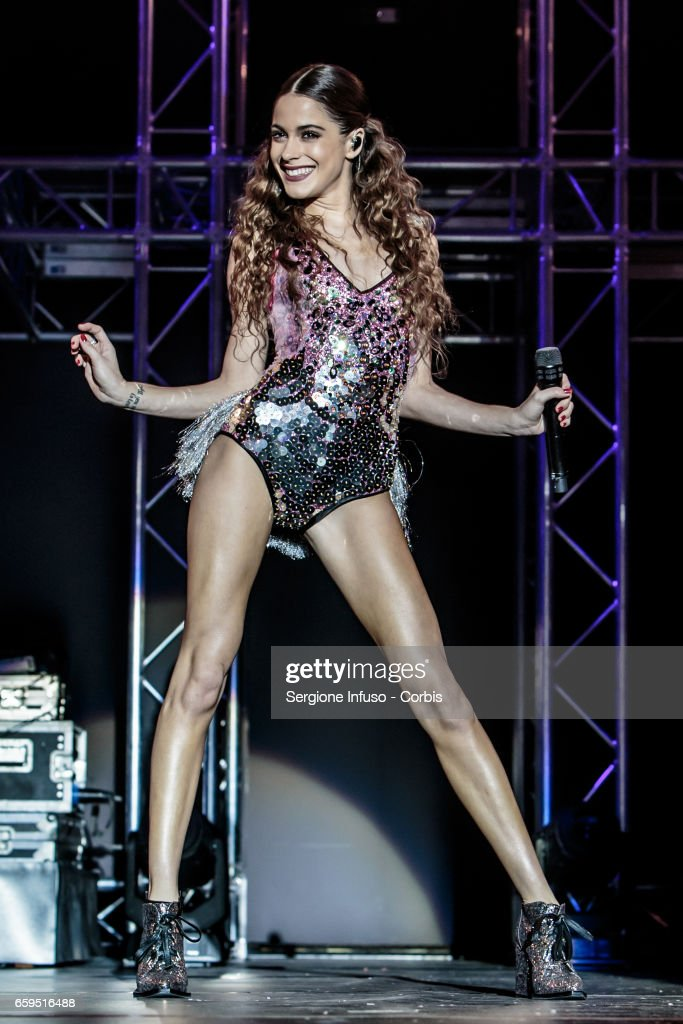 Martina Stoessel 'Tini' Performs In Milan