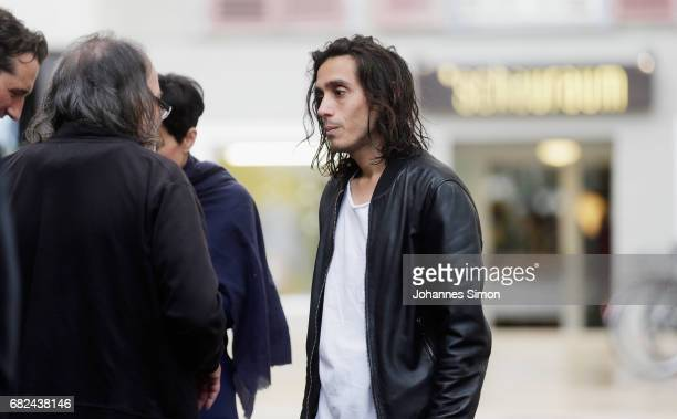 Argentine artist Adrian Villar Rojas attends the opening of his exhibition 'The Theater of Disappearance' at Kunsthaus on May 12 2017 in Bregenz...