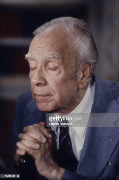 Argentine Author, Jorge Luis Borges, 21st October 1977