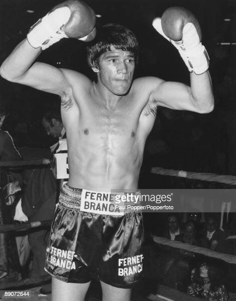 Argentine Boxer Carlos Monzon Before Defending His World