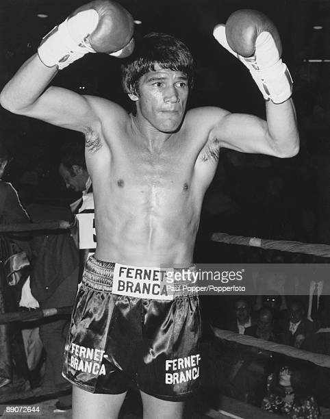 Argentine boxer Carlos Monzon before defending his World Middleweight title against Nino Benvenuti of Italy Monte Carlo Monaco 8th May 1971 Monzon...