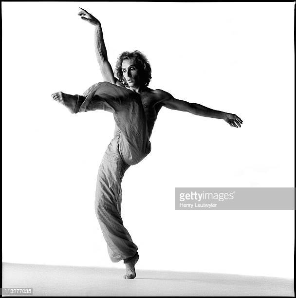 Argentine dancer Jorge Donn photographed for a May 1987 Madame Figaro in Paris France