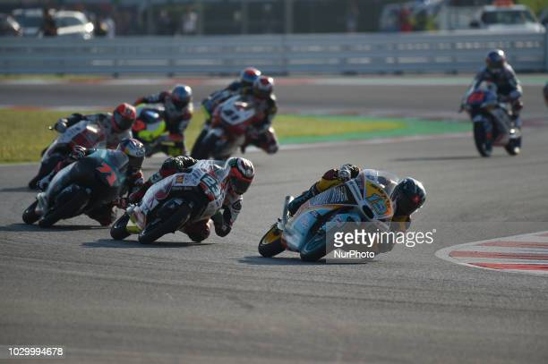 19 Argentine driver Gabriel Rodrigo of Team RBA BOE Skull Rider 23 French driver Ponsson Christophe of team Reale Avintia Racing 71 Japanese driver...