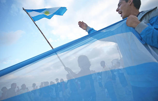 BRA: Argentine Fans Flock To Rio Ahead Of Country's Would Cup Final Against Germany
