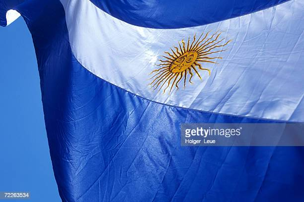 Argentine flag, Plaza de Mayo, Buenos Aires, Argentina