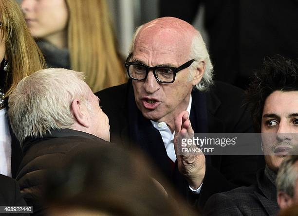 Argentine football forward turned manager of Boca Junior and former Paris SaintGermain striker Carlos Bianchi is pictured during the French Cup...