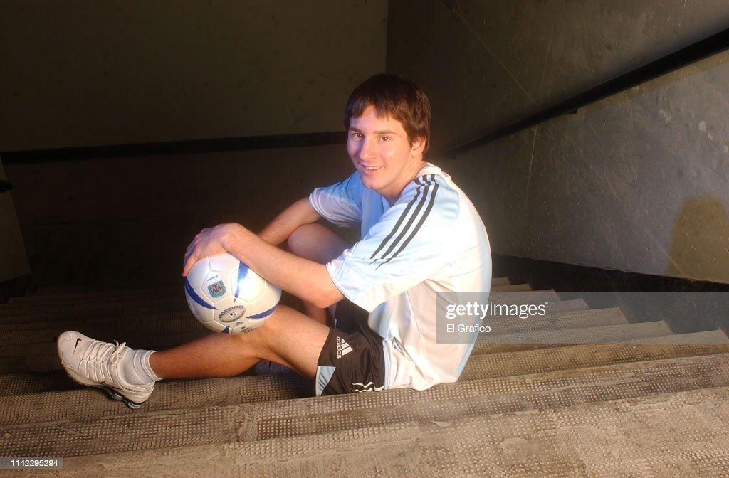 Lionel Messi - El Gráfico Archive : News Photo