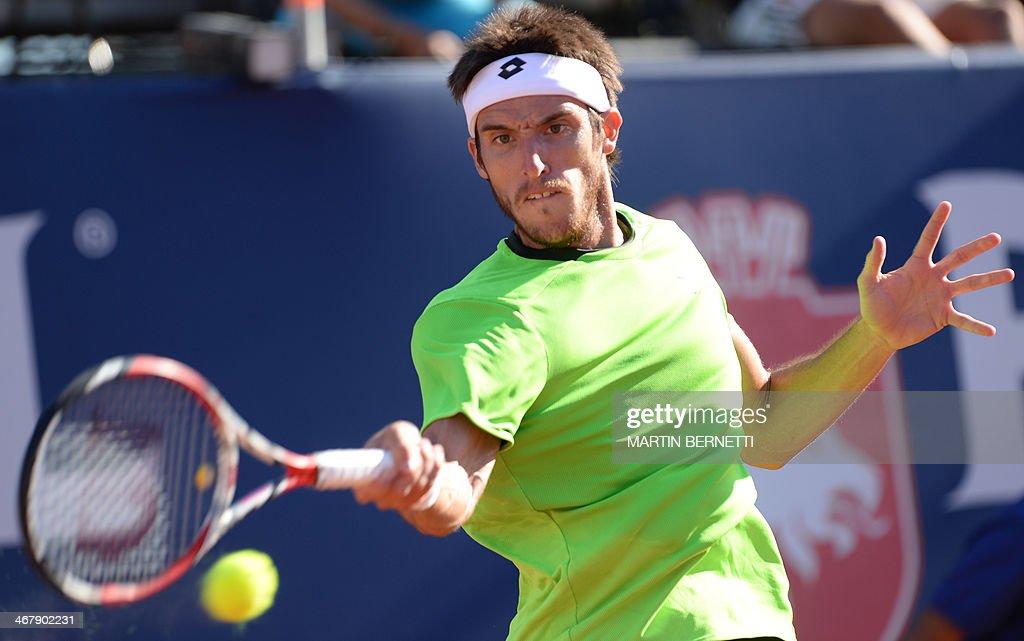 TENNIS-ATP-COL-ARG-MAYER : News Photo