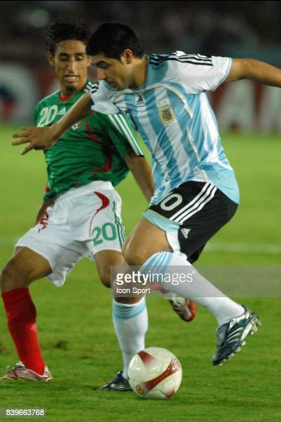 RIQUELME Argentine / Mexique 1/2 Finale de la Copa America 2007 Venezuela
