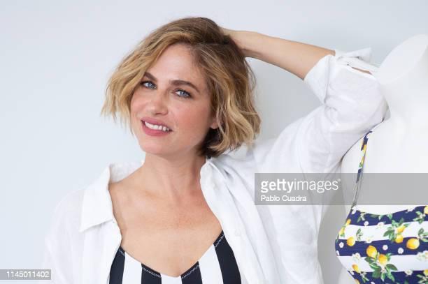 Argentine model Martina Klein presents Ysabel Mora Swimwear Collection on April 25 2019 in Madrid Spain