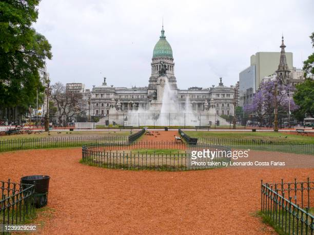 argentine national congress - leonardo costa farias stock pictures, royalty-free photos & images
