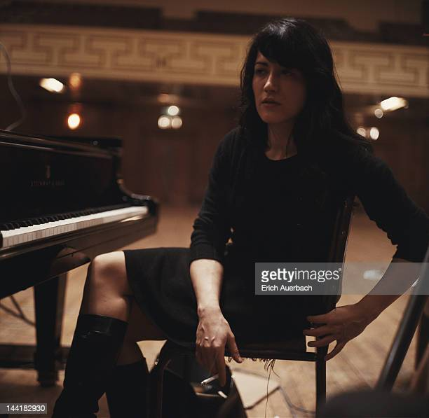 Argentine pianist Martha Argerich circa 1968