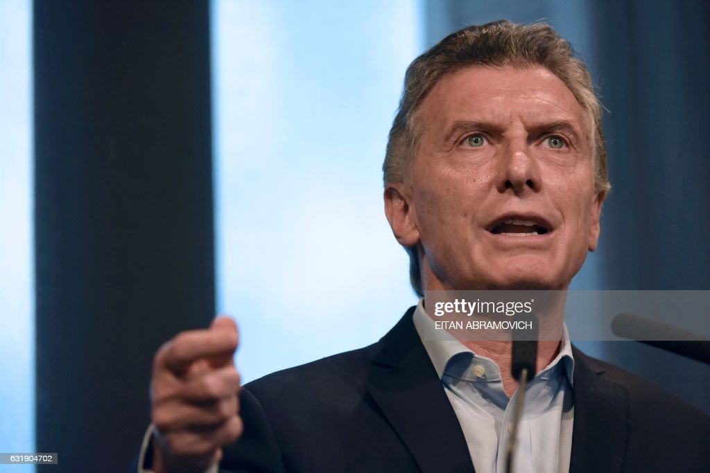 ARGENTINA-POLITICS-MACRI : News Photo