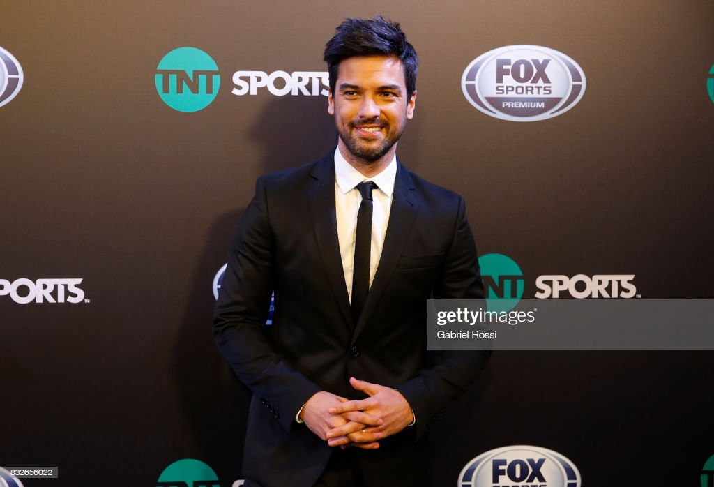 Argentine Radio and TV host Leandro Leunis during AFA's Superliga Official Launch at Hilton Hotel on August 15, 2017 in Buenos Aires, Argentina.