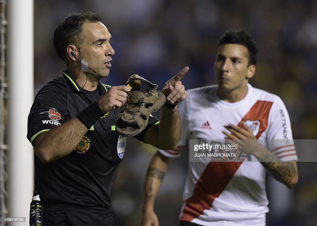FBL-SUDAMERICANA-BOCA-RIVER : News Photo
