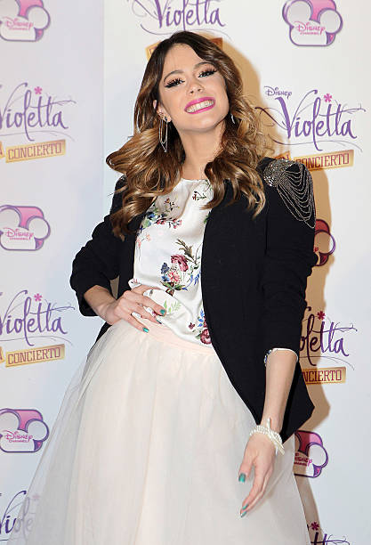39 violetta 39 concert in madrid photos and images getty images - Violetta disney channel ...