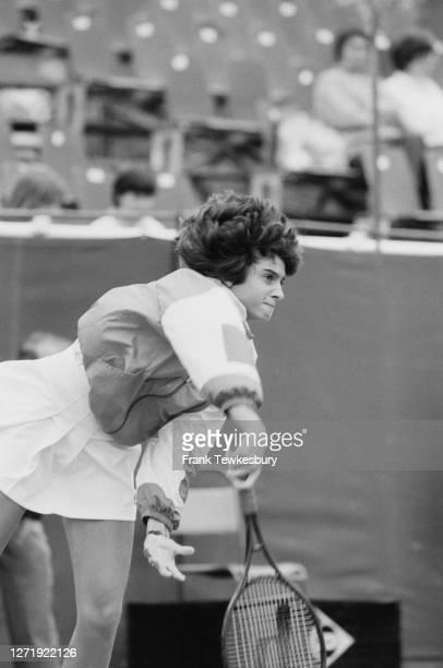 Argentine tennis player Gabriela Sabatini UK 13th June 1985