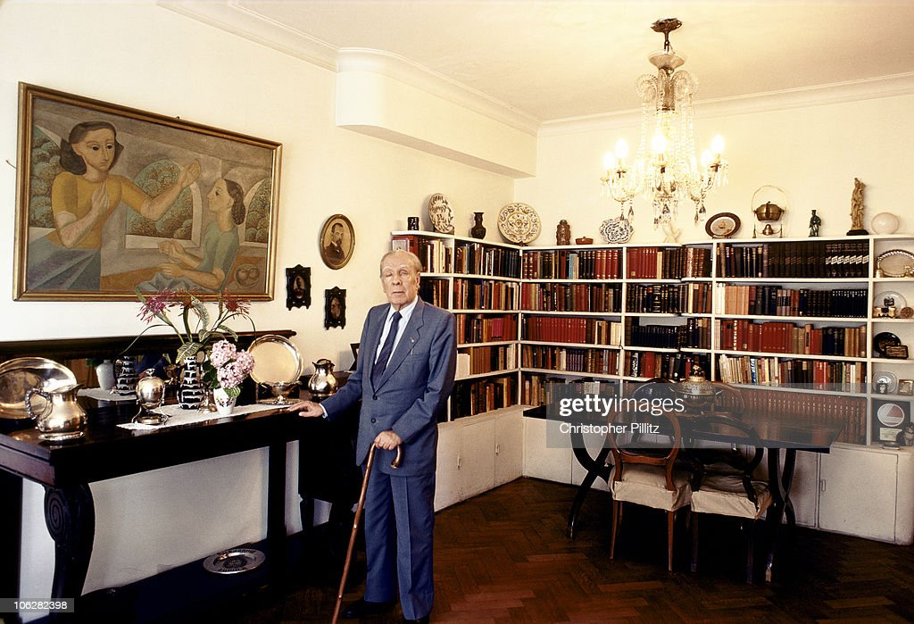 Jorge Luis Borges : News Photo