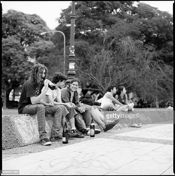 argentine youths - emo stock pictures, royalty-free photos & images