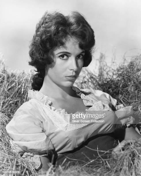 ArgentineAmerican actress Linda Cristal circa 1955