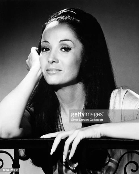 ArgentineAmerican actress Linda Cristal circa 1968