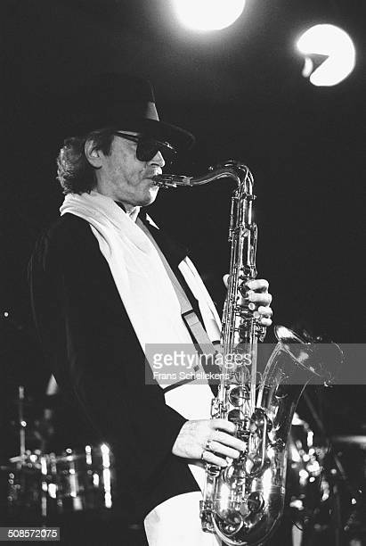 Argentinean saxophone player Gato Barbieri performs at the North Sea Jazz Festival in the Hague Netherlands on 13th July 1997