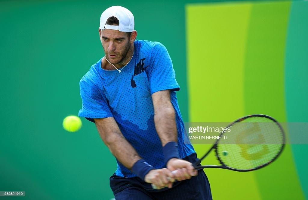 OLY-2016-RIO-TENNIS-TRAINING : News Photo