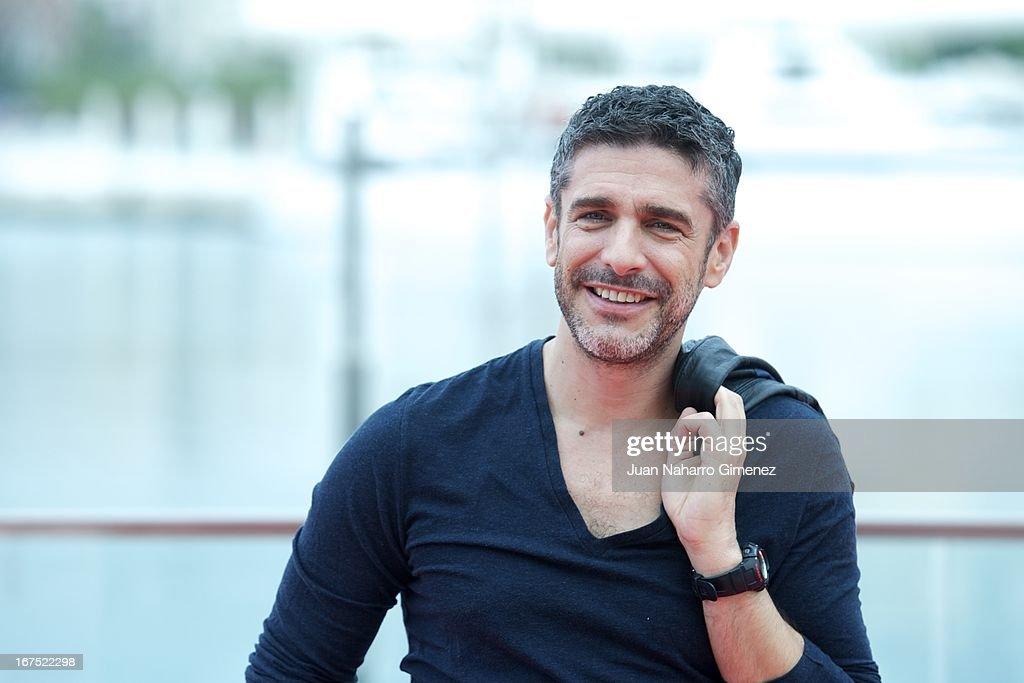 Argentinian actor Leonardo Sbaraglia attends 'Sola Contigo' photocall during 16 Malaga Film Festival at Port on April 26, 2013 in Malaga, Spain.